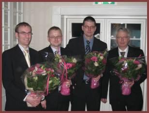 """vinderen af audi twin cup 2006 i danmark er netop blevet kåret. det blev team """"ringenes herrer teknik"""" fra smc-biler esbjerg a/s bestående af martin lauridsen, peter bundegaard, robert hansen og morten spangsberg."""